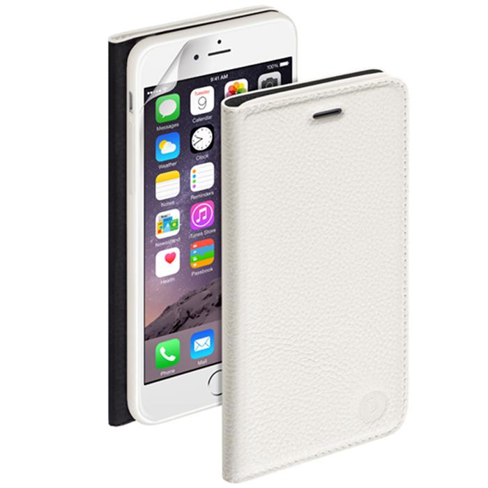 Deppa Wallet Cover чехол для Apple iPhone 6, White84063Чехол Deppa Wallet Cover для iPhone 6 предназначен для защиты корпуса смартфона от механических повреждений и царапин в процессе эксплуатации. Имеется свободный доступ ко всем разъемам и кнопкам устройства. В комплект также входит защитная пленка из трехслойного японского материала PET.