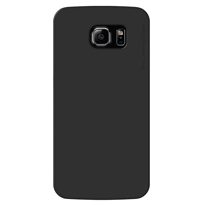 Deppa Sky Case чехол для Samsung Galaxy S6, Black86034Чехол Deppa Sky Case для Samsung Galaxy S6 предназначен для защиты корпуса смартфона от механических повреждений и царапин в процессе эксплуатации. Имеется свободный доступ ко всем разъемам и кнопкам устройства. Чехол изготовлен из полипропилена и имеет толщину 0,4 мм.
