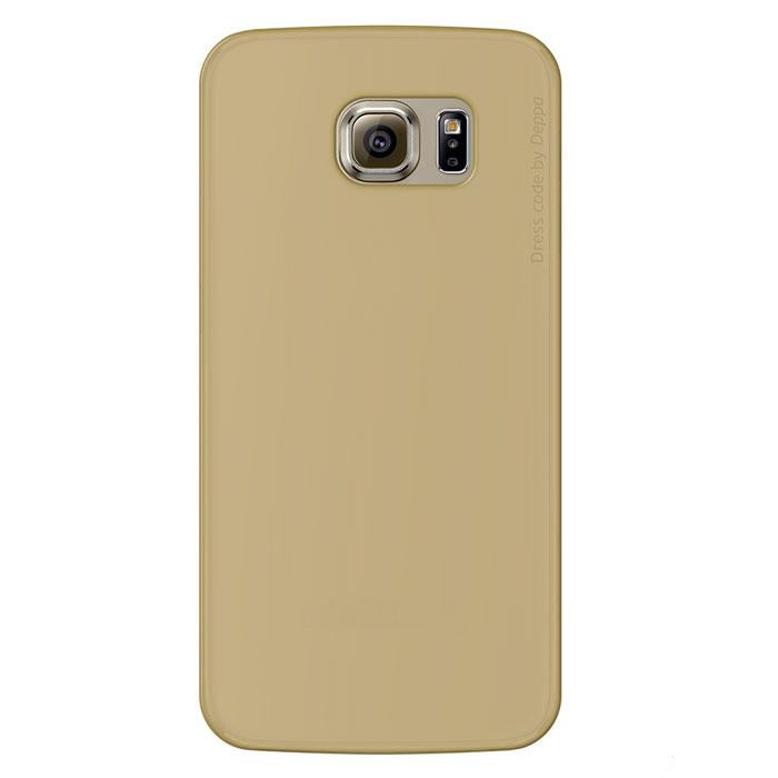 Deppa Sky Case чехол для Samsung Galaxy S6, Gold86036Чехол Deppa Sky Case для Samsung Galaxy S6 предназначен для защиты корпуса смартфона от механических повреждений и царапин в процессе эксплуатации. Имеется свободный доступ ко всем разъемам и кнопкам устройства. Чехол изготовлен из полипропилена и имеет толщину 0,4 мм.