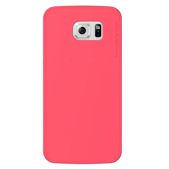 Deppa Sky Case чехол для Samsung Galaxy S6, Coral86039Чехол Deppa Sky Case для Samsung Galaxy S6 предназначен для защиты корпуса смартфона от механических повреждений и царапин в процессе эксплуатации. Имеется свободный доступ ко всем разъемам и кнопкам устройства. Чехол изготовлен из полипропилена и имеет толщину 0,4 мм.