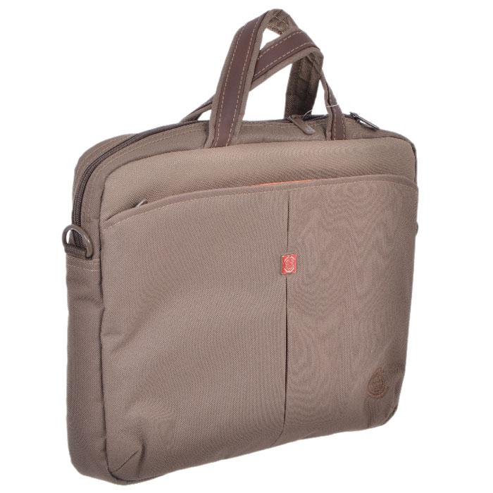 Continent CC-013, Safari сумка для ноутбука 13.3CC-013 SafariСумка Continent CC-013 предназначена для нетбуков с диагональю экрана до 13. Стенки с мягкими вставками для надежной защиты нетбука. Основное отделение закрывается на застежку-молнию.
