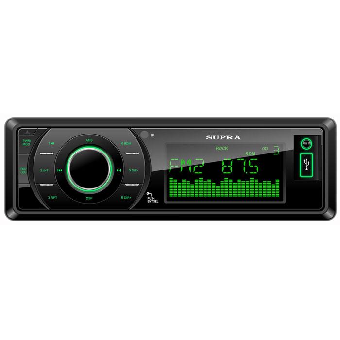 Supra SFD-121USC, Black автомагнитола MP3 ( SFD-121USC )