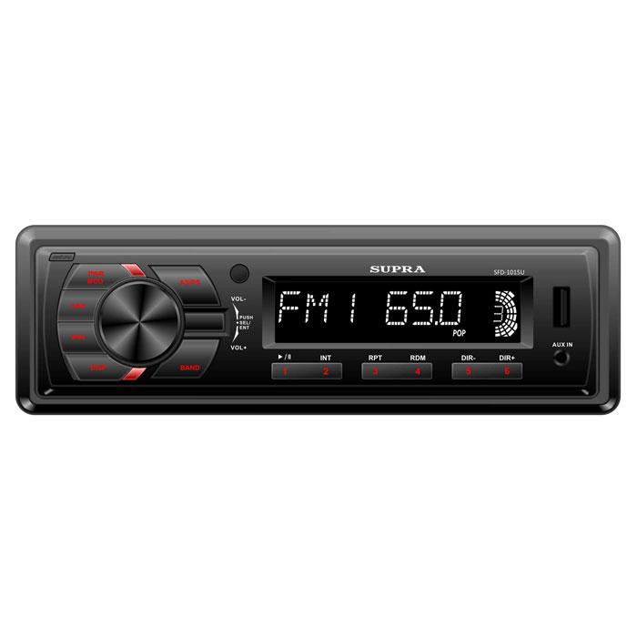 Supra SFD-1015U, Black автомагнитола MP3 ( SFD-1015U )