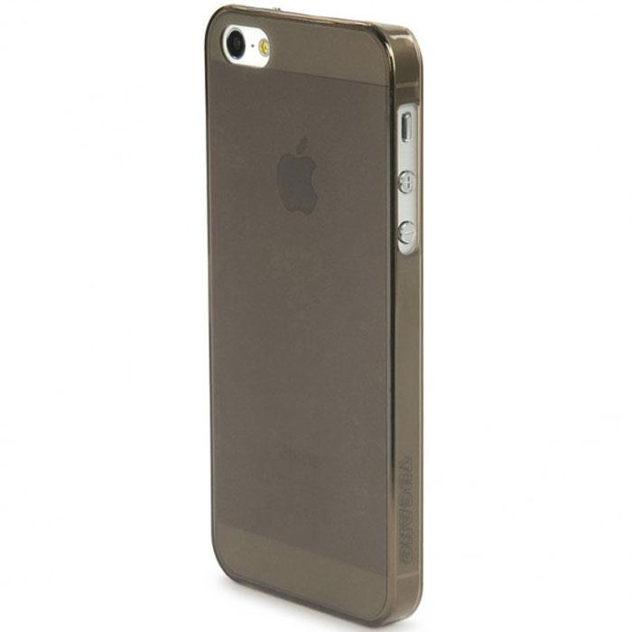 Tucano Sottile чехол для iPhone 5/5s, GreyTC_MB_IPH5SOЖесткий пластиковый ультратонкий чехол-накладка Tucano Sottile для iPhone 5/5s превосходно защищает устройство от легких ударов, царапин и пыли, обеспечивая свободный доступ ко всем его функциям.