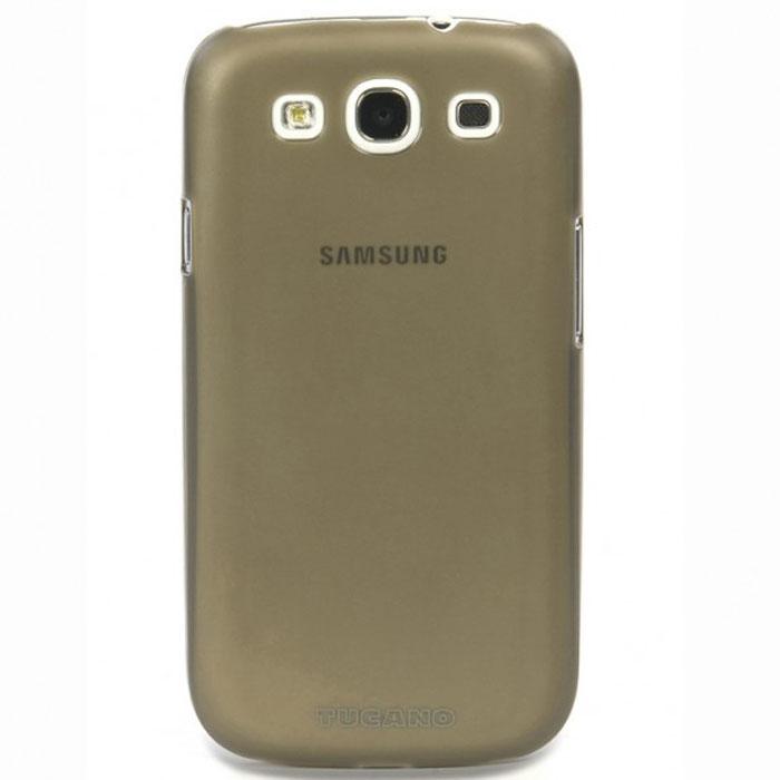 Tucano Sottile чехол для Samsung Galaxy S3, GreyTC_MB_SG3SOПрочный и эластичный чехол-накладка Tucano Sottile для Samsung Galaxy S3 идеально облегает и защищает ваш смартфон от царапин, пыли и легких ударов. Легкий и прочный материал, сверхтонкий дизайн, полный доступ к разъемам устройства делают этот чехол удобным в использовании.