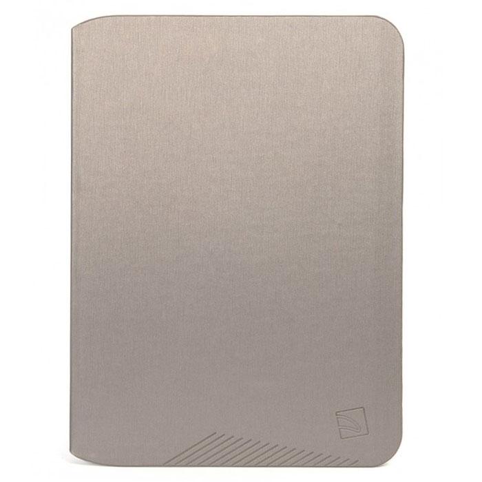Tucano Macro чехол для Samsung Galaxy Tab 3 10.1, GreyTC_TPC_TAB-MS310-GTucano Macro - чехол из прочного материала. Имеет жесткий корпус, обеспечивающий максимальную защиту. Чехол легко трансформируется в удобную подставку при помощи технологии Stand-Up System и имеет 3 позиции - для чтения или работы. Мягкая подкладка из микрофибры служит для предотвращения царапин. Обеспечивает свободный доступ ко всем функциям и разъёмам устройства.