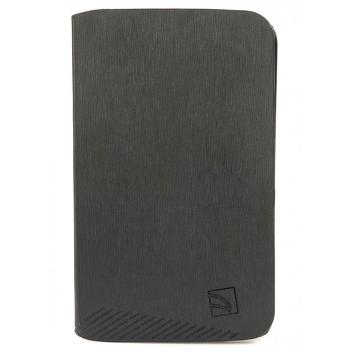 Tucano Macro чехол для Samsung Galaxy Tab 3 7.0, BlackTC_TPC_TAB-MS37Tucano Macro - чехол из прочного материала. Имеет жесткий корпус, обеспечивающий максимальную защиту. Чехол легко трансформируется в удобную подставку при помощи технологии Stand-Up System и имеет 3 позиции - для чтения или работы. Мягкая подкладка из микрофибры служит для предотвращения царапин. Обеспечивает свободный доступ ко всем функциям и разъёмам устройства.