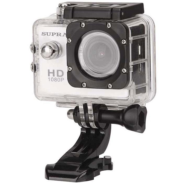 Supra ACS-10 экшн камера8891Пережить заново самые яркие эмоции и впечатления, взглянуть на спуск по снежной трассе, полет на параплане или трюк на скейтборде от первого лица поможет Action Camera Supra ACS-10. Эта мини-камера фиксирует быстро меняющийся мир в формате Full HD, а затем демонстрирует захватывающие видео на собственном ЖК- экране или на большом телевизоре (есть видео выход AV/HDMI и порт USB). Многочисленные чехлы, крепления и прочие аксессуары открывают огромные просторы для вашего операторского творчества, а широчайший угол обзора (170 градусов) не оставит без внимания ни одной детали. Качество видеозаписи: 1080p (1980x1080) 30 кадров/с; 720p (1280 x 720) 60 кадров/с Разрешение фото: 12 Mпикс, 8 Мпикс, 5 Мпикс Емкость аккумулятора: 900 мАч Перезапись блоками каждые 2/5/10 мин Водостойкий бокс, водостойкость до 30 м Класс исполнения водонепроницаемого корпуса: IP68 10 вариантов креплений