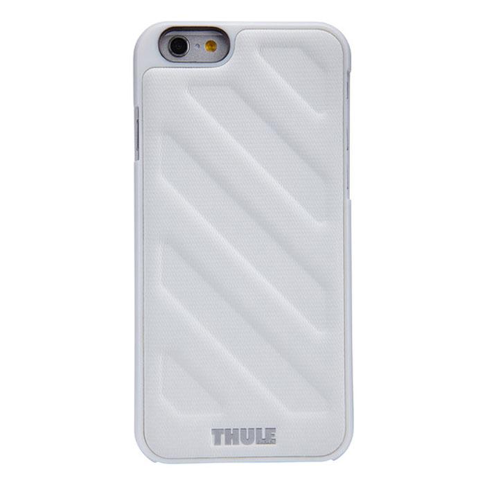 Thule Gauntlet чехол для iPhone 6, WhiteTH_MB_TGIE-2124WТонкий чехол Thule Gauntlet для iPhone 6 позволяет легко положить и достать устройство из кармана. Спрессованная нескользящая поверхность и продуманная форма позволяют надежно удерживать устройство во время фотографирования или игр. Выступающие края защищают экран, кнопку включения/выключения и динамики от ударов и царапин. Благодаря нескользящей задней поверхности устройство останется лежать там, где вы его положите.