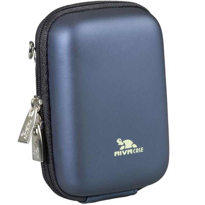 Riva 7024 (PU) Digital Case, Dark Blue чехол для фотокамеры