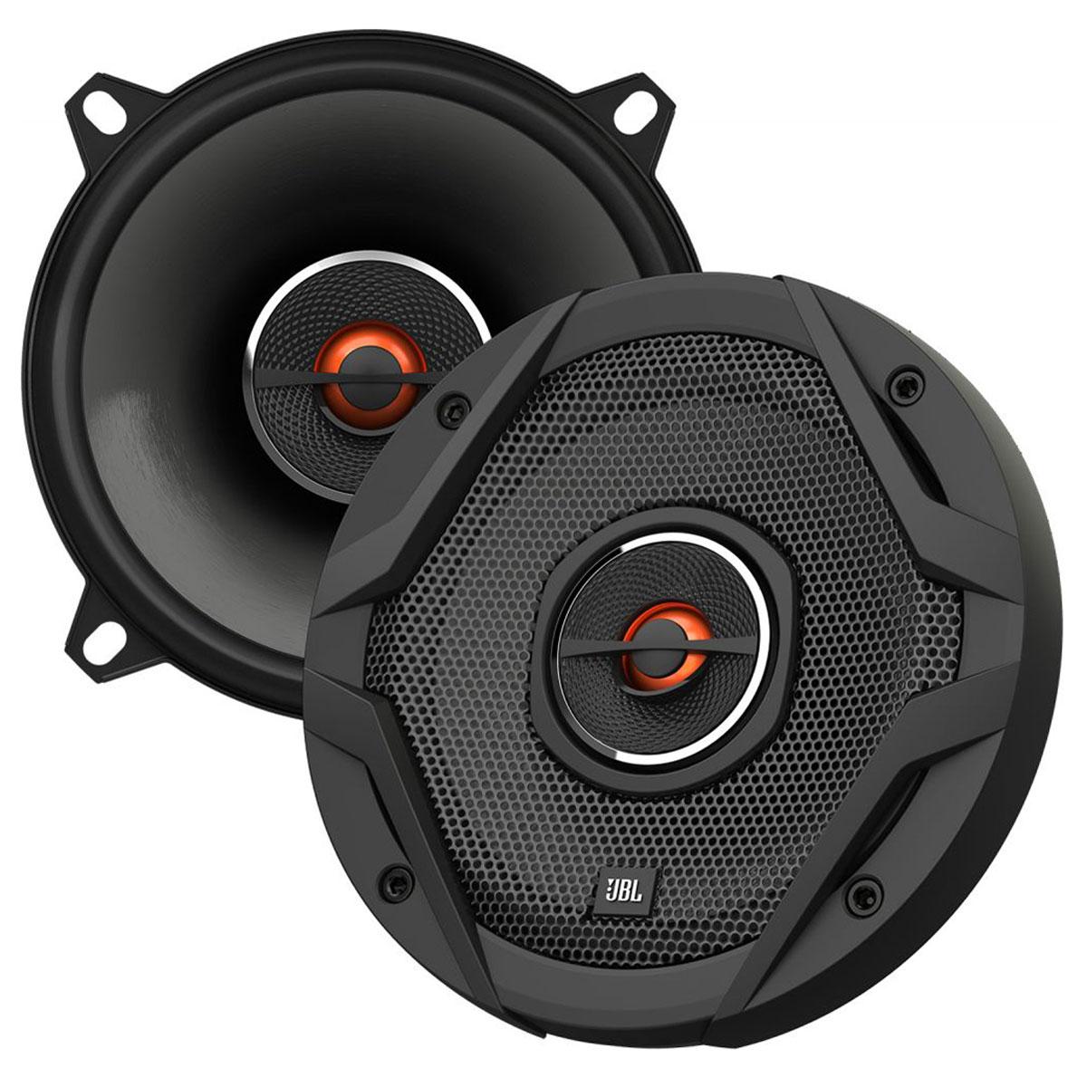 JBL GX502 автоакустика коаксиальнаяGX502Автомобильные динамики JBL GX универсальны и подходят почти под любые разъемы для акустики. Основные особенности серии – новый фирменный дефлектор твитера, индивидуальная настройка и звуковые катушки с сопротивлением 3 Ом, которые обеспечивают оптимальное распределение мощности. Диффузоры JBL GX увеличены при помощи технологии Plus One, также динамики оснащены плавнообтекаемыми твитерами с приводом по краю и, конечно, отличаются неотразимым дизайном. Это не просто великолепный звук, это нечто большее!