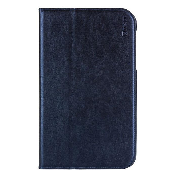 Nexx Bookz чехол для Samsung Galaxy Tab 3 Lite 7, BlueNX-TPC-BZ-207DBФункциональный чехол Nexx Bookz для Samsung Galaxy Tab 3 Lite 7 отличается от всех прочих сочетанием функциональности и простоты. Функция sleep/wake позволит переключать планшет в режим сна при закрытии крышки и автоматически включать его при ее открытии. Края чехла из экокожи высочайшего качества, прошитые специальным образом, придают ему долговечность и надежно предохранят планшет от царапин и повреждений.