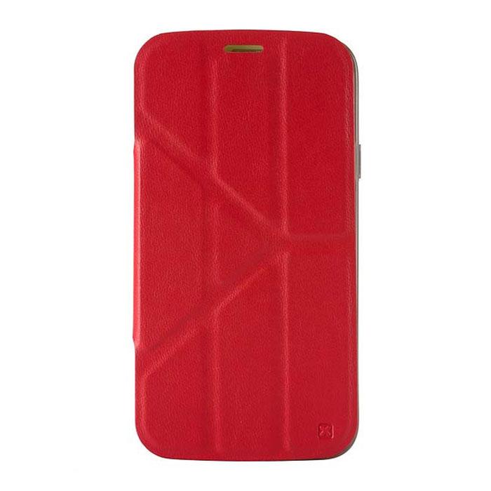 Nexx Smarts чехол для Samsung Galaxy S5, RedNX-MB-ST-202RЗащитный чехол Nexx Smarts для Samsung Galaxy S5. Коллекция чехлов SMARTS сочетает в себе функциональность и надежность. Особенностью чехла является его способность принимать форму Вашего смартфона и сливаться с ним воедино, практически не увеличивая вес и габариты. Конструкция крышки чехла со встроенными магнитами позволяет разместить смартфон в удобном положении.