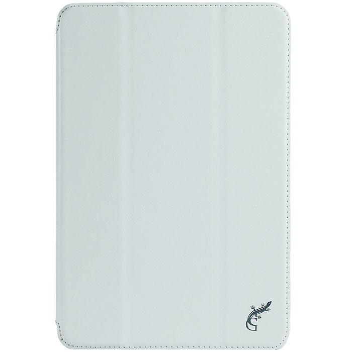 G-Case Slim Premium чехол для Samsung Galaxy Tab A 8.0, WhiteGG-582Чехол G-Case Slim Premium для Samsung Galaxy Tab A 8.0 - это стильный и лаконичный аксессуар, позволяющий сохранить устройство в идеальном состоянии. Надежно удерживая технику, обложка защищает корпус и дисплей от появления царапин, налипания пыли. Имеет свободный доступ ко всем разъемам устройства.