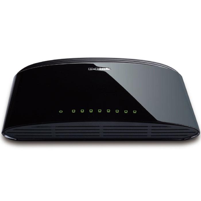 D-Link DES-1008D/RU коммутаторDES-1008D/RUКоммутатор оснащен 8 портами 10/100 Мбит/с, позволяющими небольшой рабочей группе легко подключаться к уже имеющимся сетям Ethernet и Fast Ethernet. Это возможно благодаря свойству портов автоматически определять сетевую скорость и работать по стандартам 10BASE-T и 100BASE-TX, а также в режиме передачи полу-/полный дуплекс. Автоматическое определение MDI/MDIX: Все порты поддерживают автоматическое определение полярности MDI/MDIX. Это исключает необходимость использования кроссированных кабелей или портов uplink. Любой порт можно подключить к серверу, концентратору, маршрутизатору или коммутатору, используя «прямой» Ethernet-кабель на основе витой пары. Управление потоком: Все порты поддерживают управление потоком 802.3x. Эта функция позволяет предотвратить потерю пакетов посредством передачи сигнала о возможном переполнении буфера. Приостановка передачи пакетов продолжается до тех пор, пока порт не будет готов принимать новые данные....
