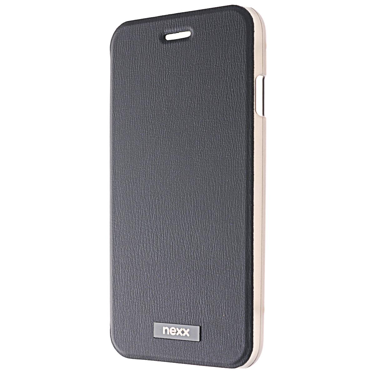 Nexx Ultra S чехол для iPhone 6, BlackNX-MB-US-104-BKУльтратонкий суперлегкий чехол Nexx Ultra S для iPhone 6. Элегантный дизайн, отделка из высококачественной эко-кожи и специальное отделение для пластиковой карты делают Ultra S незаменимым атрибутом делового стиля. Прозрачное пластиковое основание надежно фиксирует ваш смартфон и сохраняет его аутентичный дизайн. Тщательно продуманная конструкция Ultra S обеспечивает полный доступ ко всем функциям устройства, а подкладка из микрофибры защищает экран от царапин.