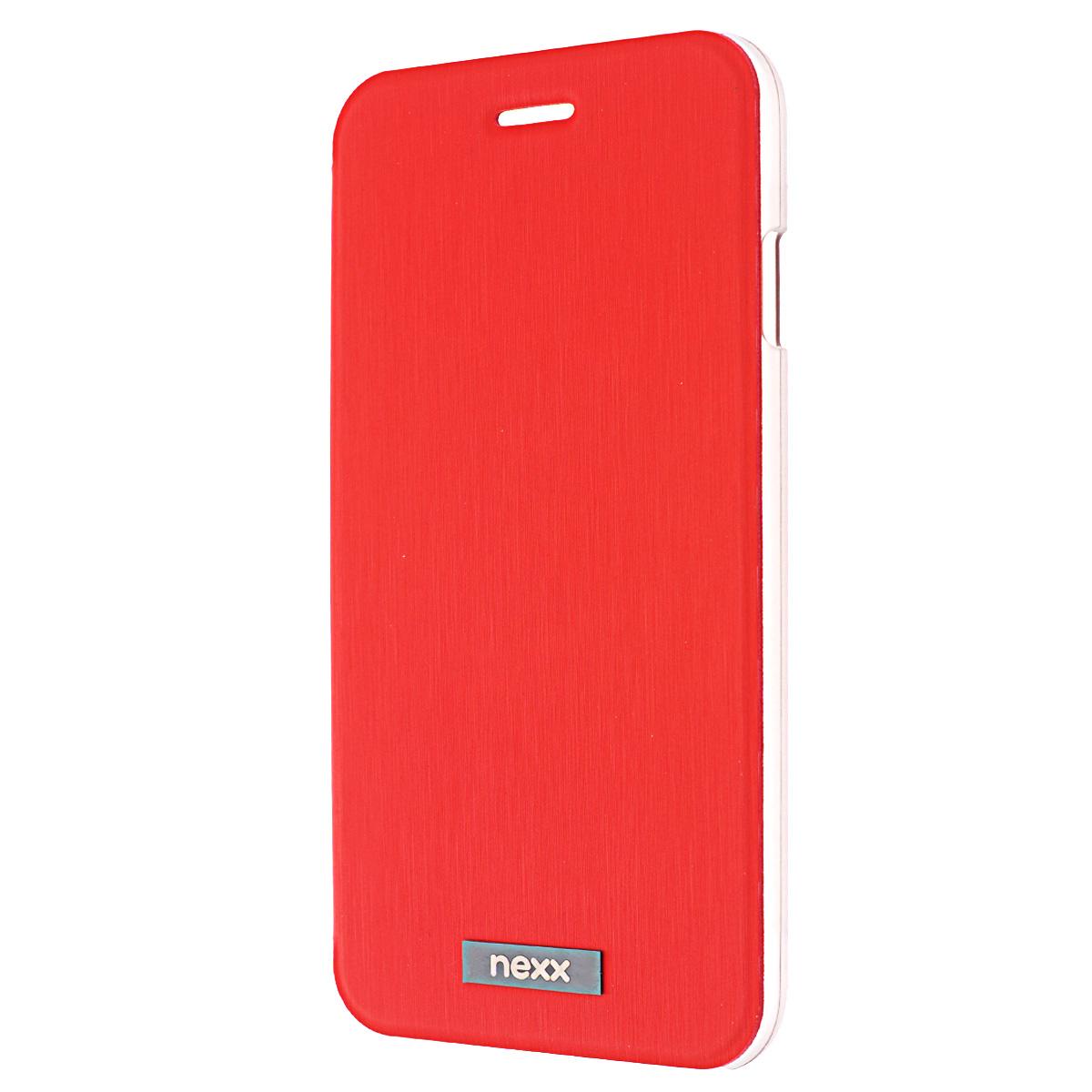 Nexx Ultra S чехол для iPhone 6, RedNX-MB-US-104-RDУльтратонкий суперлегкий чехол Nexx Ultra S для iPhone 6. Элегантный дизайн, отделка из высококачественной эко-кожи и специальное отделение для пластиковой карты делают Ultra S незаменимым атрибутом делового стиля. Прозрачное пластиковое основание надежно фиксирует ваш смартфон и сохраняет его аутентичный дизайн. Тщательно продуманная конструкция Ultra S обеспечивает полный доступ ко всем функциям устройства, а подкладка из микрофибры защищает экран от царапин.