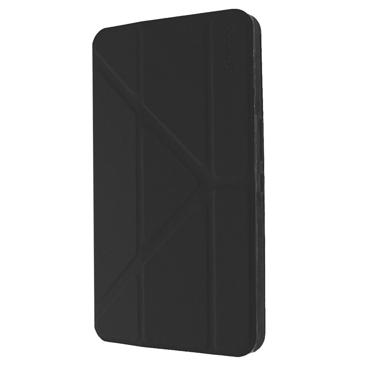 Nexx Smartt чехол для Huawei Mediapad X1, BlackNX-TPC-ST-800-BKЗащитный чехол Nexx Smartt для Huawei Mediapad X1. Коллекция чехлов Smartt сочетает в себе функциональность и надежность. Особенностью чехла является его способность принимать форму вашего планшета и сливаться с ним воедино, практически не увеличивая вес и габариты. Конструкция крышки чехла со встроенными магнитами позволяет разместить смартфон в удобном положении.