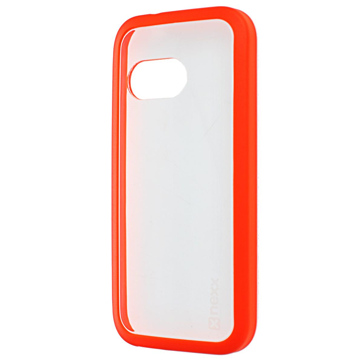 Nexx Zero чехол для HTC M8 mini, OrangeNX-MB-ZR-504-ORТонкий прозрачный чехол Nexx Zero для HTC One M8 mini 2. Дизайн разработан специально для тех, кто стремится сохранить индивидуальность своего смартфона и обеспечить ему достойную защиту. Тонкий, почти невесомый чехол станет неотъемлемой частью вашего телефона, а насыщенные цвета сделают ваш образ по-летнему ярким.