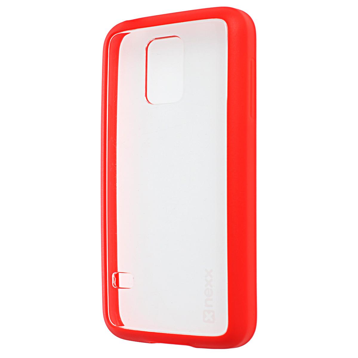 Nexx Zero чехол для Samsung Galaxy S5 mini, RedNX-MB-ZR-218-RDТонкий прозрачный чехол Nexx Zero для Samsung Galaxy S5 mini. Дизайн разработан специально для тех, кто стремится сохранить индивидуальность своего смартфона и обеспечить ему достойную защиту. Тонкий, почти невесомый чехол станет неотъемлемой частью вашего телефона, а насыщенные цвета сделают ваш образ по- летнему ярким.