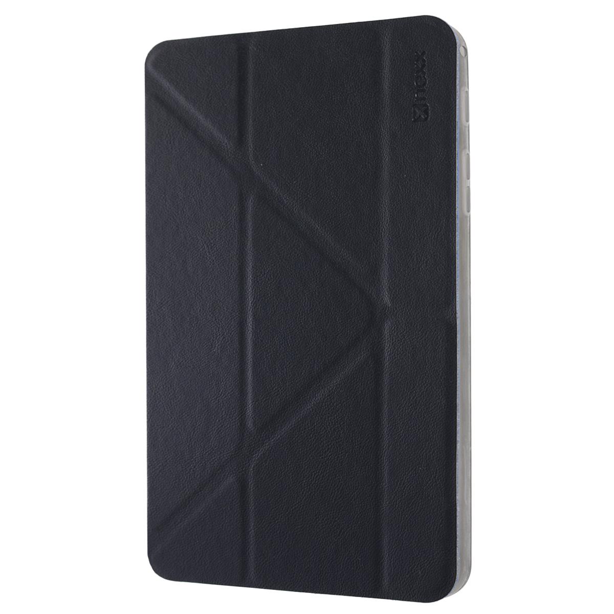 Nexx Smartt чехол для Samsung Galaxy Tab 4 8, BlueNX-TPC-ST-208-DBЗащитный чехол Nexx Smartt для Samsung Galaxy Tab 4 8. Коллекция чехлов Smartt сочетает в себе функциональность и надежность. Особенностью чехла является его способность принимать форму вашего планшета и сливаться с ним воедино, практически не увеличивая вес и габариты. Конструкция крышки чехла со встроенными магнитами позволяет разместить смартфон в удобном положении.