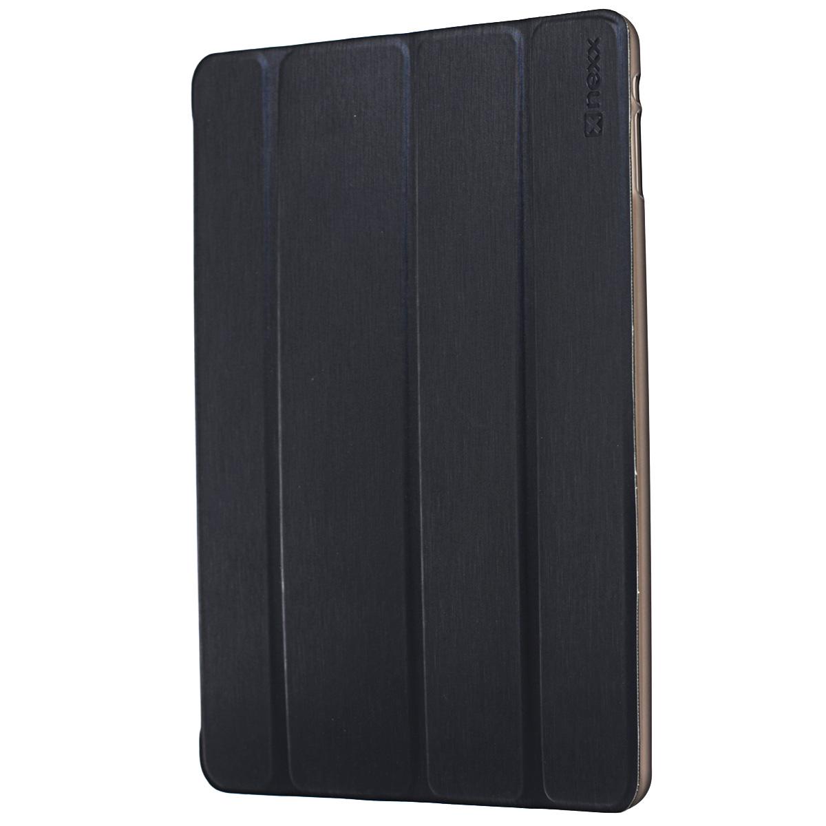 Nexx Ultra S чехол для Apple iPad Air, BlackNX-TPC-US-100Тонкий чехол-книжка Nexx Ultra S для Apple iPad Air - идеальное решение для практичных людей с хорошим вкусом. Чехол легко трансформируется в удобную подставку и имеет 2 позиции - для чтения и работы. Жесткие стенки надежно защищают планшет, а мягкая внутренняя поверхность из микрофибры предотвращает появление царапин. Интегрированные в крышку тонкие магнитные пластины держат ее плотно закрытой, когда планшет не используется и выполняют функцию ON/OFF. Обеспечивает свободный доступ ко всем кнопкам и разъемам планшета.