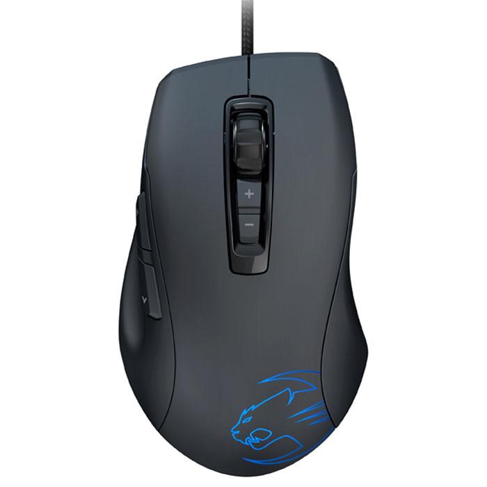 ROCCAT Kone Pure мышь (ROC-11-700)ROC-11-700ROCCAT Kone Pure - компактная и эргономичная игровая мышь с богатым набором функций. Лазерный сенсор Pro-Aim R3 в Kone Pure обеспечивает слежение, передачу и даже быстрое движение мыши без какой-либо задержки – и невероятную точность, которая дает возможность управлять игрой ошеломляющим образом. И благодаря интегрированному устройству дистанционного слежения и управления (TDCU), вы можете настроить сенсор точно под ваш коврик для мыши, с дальнейшим улучшением слежения и минимизацией задержки – а также для стремительного роста ваших командных способностей. Kone Pure работает на 32-разрядном процессоре Turbo Core V2, который обеспечивает быстродействие вычислительной системы – что означает, что вы можете получить изобилие обычных игровых функций без какой- либо задержки. Созданная при помощи усовершенствованных компонентов, технология переключения Click Master обеспечивает регистр нажатия каждой кнопки с предельной точностью. Каждый клик также...