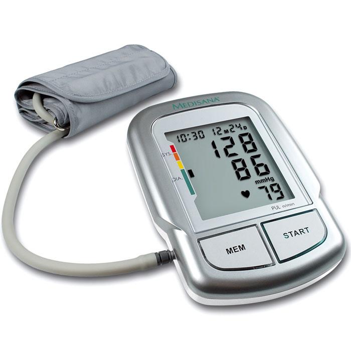 Medisana Плечевой тонометр MTC00000807Автоматический тонометр Medisana MTC, позволяет производить точную диагностику кровяного давления. Удобный в эксплуатации прибор, обеспечивает полноценное измерение в соответствии с медицинскими требованиями и хранение 60 результатов в памяти. Людям испытывающим проблемы с артериальным давлением или страдающим различными заболеваниями сердечно-сосудистой системы, необходимо всегда иметь под рукой тонометр. Современный рынок, позволяет купить тонометр способный обеспечить точное измерение и максимальную простоту эксплуатации. Именно таким прибором является тонометр автоматический Medisana MTC, который отвечает современным требованиям к точности и функциональности. Измерение давления при помощи данного тонометра производится на плече. Отличную точность диагностики обеспечивают высокоточный датчик и микропроцессор прибора. Управление устройством осуществляется посредством одной кнопки, что делает его максимально простым и доступным каждому человеку, не имеющему...