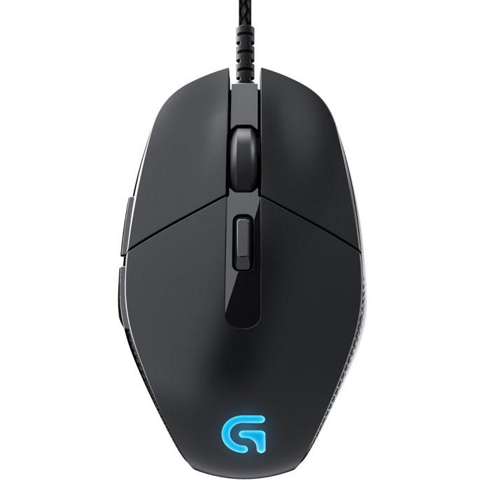 Logitech G303 Daedalus Apex игровая мышь (910-004382)910-004382Мышь Logitech G303 оснащена лучшим оптическим датчиком PMW3366. Встроенный датчик Delta Zero гарантирует оптимальное отслеживание движений, предельно снижая погрешности отслеживания мыши и увеличивая скорость ее перемещения. Этот эффект также известен как «ускорение мыши» и обеспечивает высокое быстродействие и точное прицеливание. Максимальное быстродействие достигается за счет датчика PMW3366, который имеет нулевую степень сглаживания или фильтрации по всему диапазону разрешения даже при высоком уровне чувствительности. В зависимости от типа поверхности мыши можно настроить оптимальные параметры датчика и интенсивность подсветки для достижения максимально высокой производительности и уменьшения расстояния перемещения мыши. Быстрый отклик и исключительная надежность кнопок: Металлические пружины G303 Daedalus Apex обеспечивают быстрый возврат левой и правой кнопок в исходное положение после нажатия, благодаря чему достигается оптимальное время...
