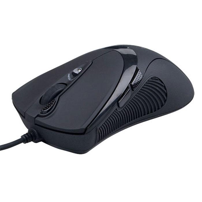 A4Tech X-748K, Black игровая мышь94400Мышь A4Tech X-748K мгновенно реагирует даже на молниеносное движение руки - в восемь раз быстрее, чем обычная USB-мышка - и даст вам решающее преимущество, которое может предопределить исход игры. Оптическая игровая мышь A4Tech X-748K создана для самых взыскательных геймеров. У нее специально разработанная эргономичная форма, а разрешение увеличивается до 3200 dpi, что оптимально подойдет для «широкоформатной» игры. В процессе игры не нужно двигать манипулятор всей кистью, с Х7 работают только пальцы. По бокам сделаны прорезиненные вставки, что исключает выскальзывание мыши в самой напряженной игровой ситуации. Шесть кнопок мыши программируются. Рядом с колесом прокрутки располагается уникальная кнопка «Тройной клик», позволяющая сделать сразу три выстрела одним нажатием. Кнопка смены разрешения позволяет менять скорость курсора мыши без установки дополнительных драйверов. При смене режима колесо прокрутки подсвечивается разными цветами....
