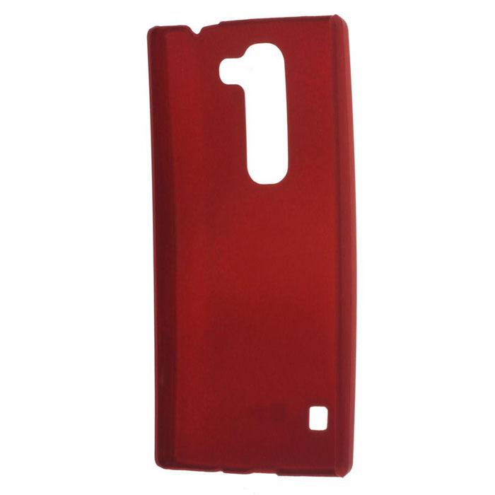 Skinbox Shield 4People чехол для LG Leon, RedT-S-LL-002Чехол - накладка Skinbox 4People для LG Leon бережно и надежно защитит ваш смартфон от пыли, грязи, царапин и других повреждений. Чехол оставляет свободным доступ ко всем разъемам и кнопкам устройства. В комплект также входит защитная пленка на экран.