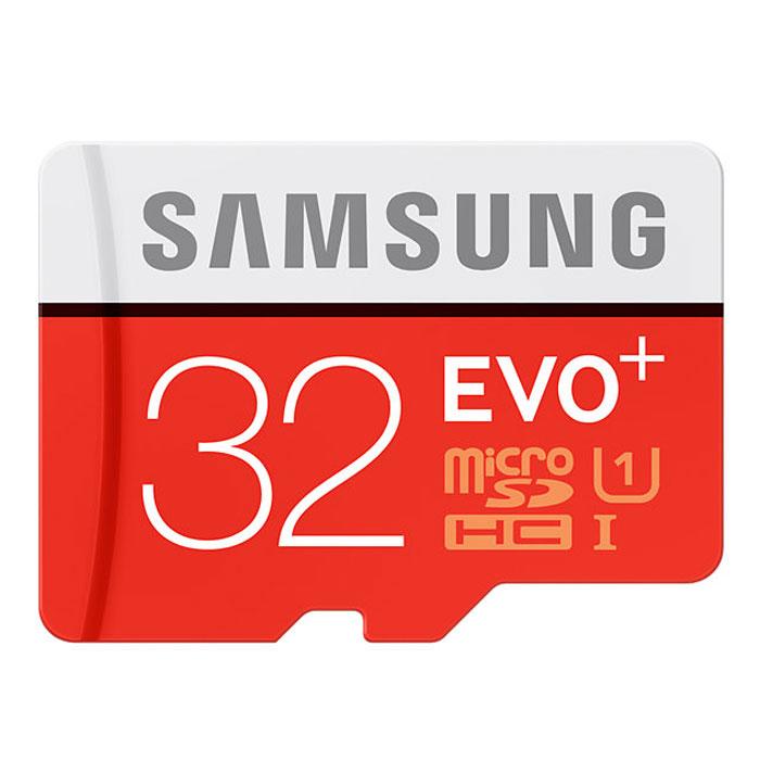 Samsung microSDHC Evo Plus 32GB ����� ������ + SD ������� - SamsungMB-MC32DA/RUSamsung microSDHC Evo Plus - ����� ������ � ������� ��������� �������� � ������ ������. �������� UHS-I ��������� ������������ ����� �������� ��� ������ ����- � ����������� � ������ � ������� ����������� � �������������� �� ��� ��������. � ��������� ������������ ���������� �� SD, ��� ��������� ������������ ���� �������� � ������� ������ ���������.