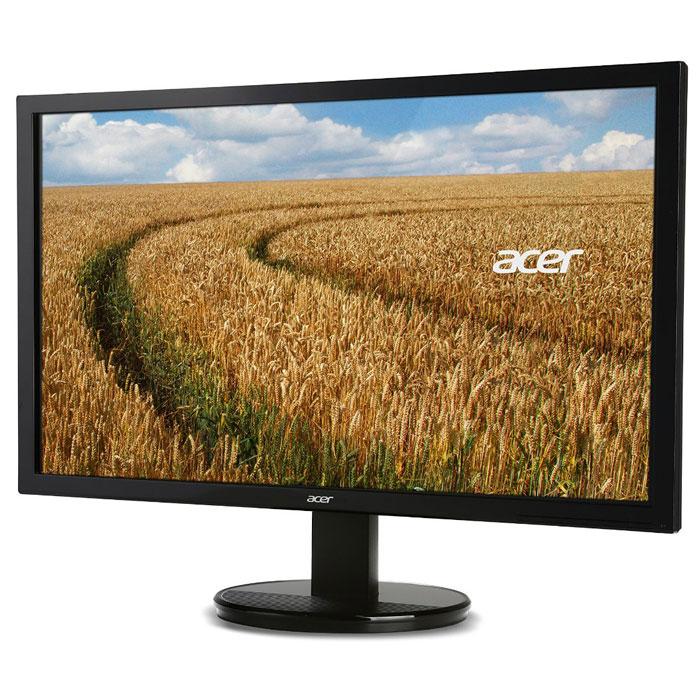 Acer K202HQLb, Black мониторUM.IW3EE.002Монитор Acer K202HQLb обладает оптимальными параметрами для эффективной и комфортной работы. Его привлекательный дизайн отлично вписывается как в интерьер офиса, так и любого помещения. Для компьютерной игры или выполнении рабочих задач пользователю гарантирована высокая детализация и плавные переходы. Благодаря наличию светодиодной подсветки, хорошим показателям цветопередачи, яркости и контрастности, высокому разрешению и небольшому времени отклика любое изображение приобретает насыщенность и реалистичность.