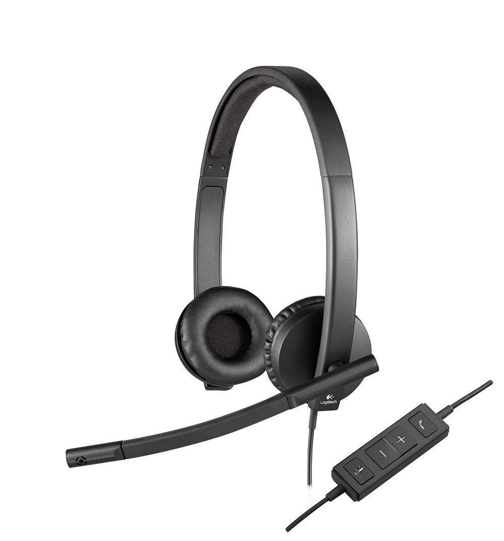 Logitech H570e Stereo USB гарнитура (981-000575)