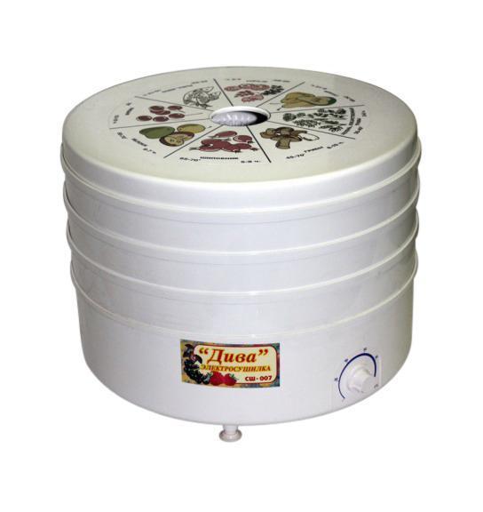 Дива СШ-007-05 сушилка для овощей ( СО Р3 5 * )