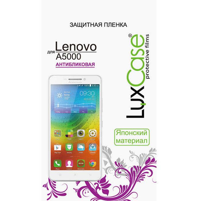 Luxcase защитная пленка для Lenovo A5000, антибликовая51048Защитная пленка Luxcase для Lenovo A5000 сохраняет экран смартфона гладким и предотвращает появление на нем царапин и потертостей. Структура пленки позволяет ей плотно удерживаться без помощи клеевых составов и выравнивать поверхность при небольших механических воздействиях. Пленка практически незаметна на экране смартфона и сохраняет все характеристики цветопередачи и чувствительности сенсора.
