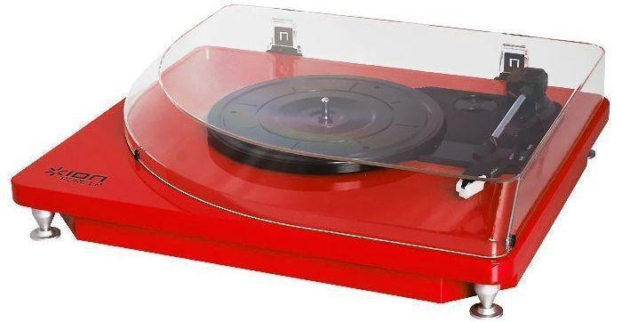 ION Audio Pure LP, Red виниловый проигрыватель ( Pure LP )