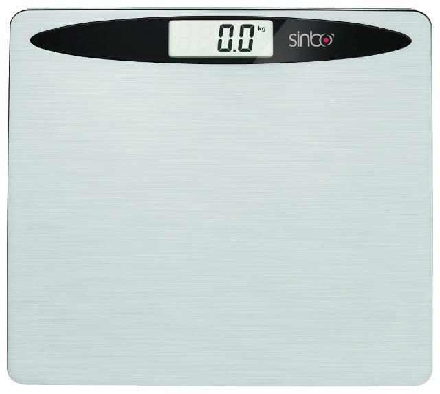 Sinbo SBS 4419, Silver весы напольныеSBS 4419