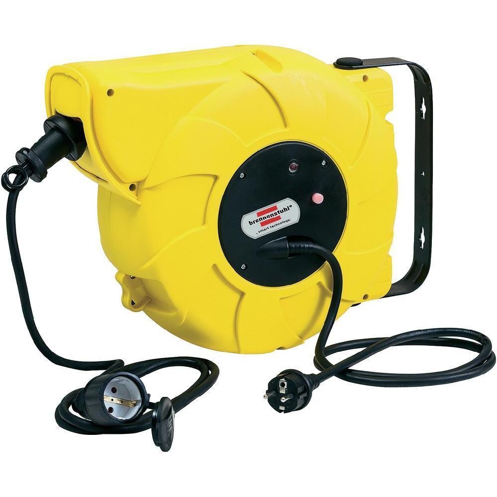Brennenstuhl Automatic Cable Reel удлинитель с 1 штепсельной розеткой, 9+2 м