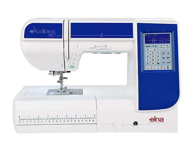 Elna eXcellence 680 швейная машина4933621706494Новинка от компании ELNA компьютерная швейная машина ELNA eXcellence 680 первая профессиональная машина по доступной цене. Качественные строчки с максимальной шириной 9 мм, большинство из которых можно комбинировать, создавая новые виды строчек. Игольная пластина имеет направительные линии в сантиметрах и дюймах, позволяющие делать безупречно ровные швы. А также напрявляющие для сшивания под углом незаменимые при работе с квилтовыми проектами. При необходимости стандартная игольная пластина заменяется на прямострочную в одно касание. 7-ступенчатый регулятор давления лапки на ткань позволяет более точно настроить машину на работу с различными тканями. Благодаря стабилизирующей пластине вы сможете выполнять идеальные петли на любом виде ткани, любой толщины. Верхний транспортер, входящий в стандартную комплектацию, поможет при работе с тяжелыми и многослойными тканями. Любители свободно-ходовой стежки по достоинству оценят набор QB-S с тремя насадками. Увеличенное рабочее...