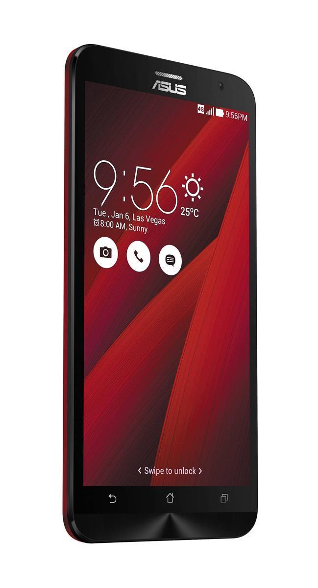 ASUS ZenFone 2 ZE551ML 32GB, Red (90AZ00A3-M01490)90AZ00A3-M01490Роскошный корпус ASUS ZenFone 2 (ZE551ML) выполнен в совершенно новом корпусе, который, тем не менее, обладает типичными для смартфонов ASUS декоративными элементами, такими как узор из концентрических окружностей. Расположенные на задней панели кнопки управления громкостью звука и камерой очень легко нажимать указательным пальцем. Смартфон оснащается ярким 5,5-дюймовым IPS- дисплеем с высокой пиксельной плотностью (403 пикселей на дюйм), который выдает невероятно четкое изображение Высокая производительность ZenFone 2 (ZE551ML) оснащается 64-битным процессором Intel Atom Z3580 (4 ядра) 2,33 ГГц, который наделяет данный смартфон высокой скоростью в многозадачном режиме, какие бы мобильные приложения вы ни использовали. Для дополнительного ускорения эта модель снабжена большим объемом системной памяти - 4 ГБ Ты увидишь то, что скрыто ZenFone 2 оснащается 13- мегапиксельной камерой для съемки...