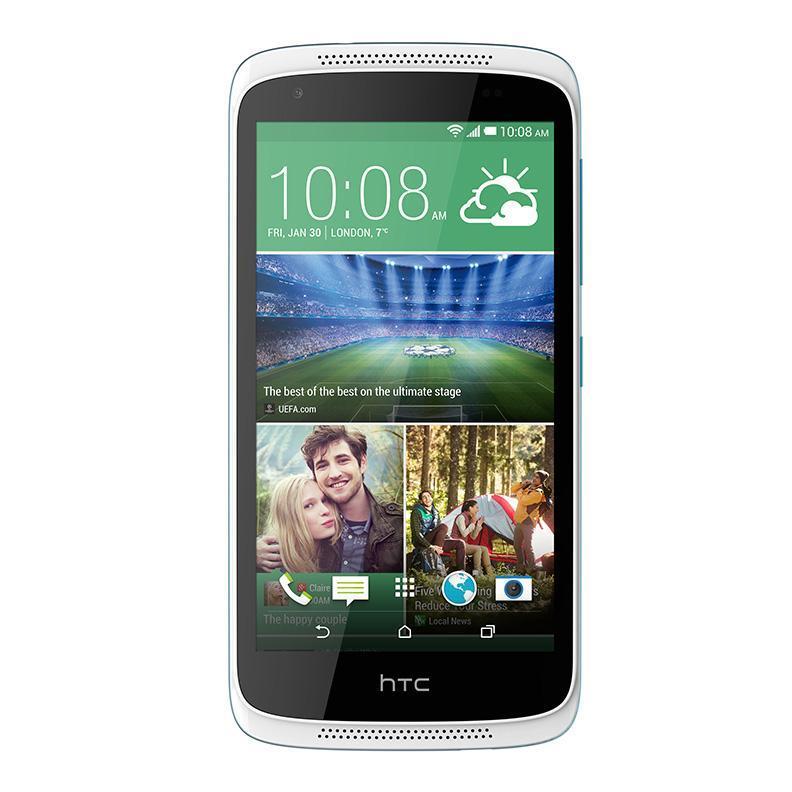HTC Desire 526G Dual Sim, White Blue