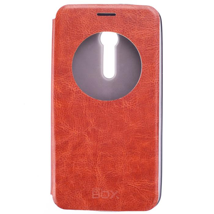 Skinbox Lux AW чехол для Asus ZenFone 2 (ZE551ML/ZE550ML), BrownT-S-AZF2-004Skinbox Lux AW для Asus ZenFone 2 обеспечивает надежную защиту смартфона и надежно оберегает его от механических повреждений. Чехол выполнен из искусственной кожи и высокого качества с приятной на ощупь текстурой, а форма открывает свободный доступ ко всем разъемам и элементам вашего устройства.