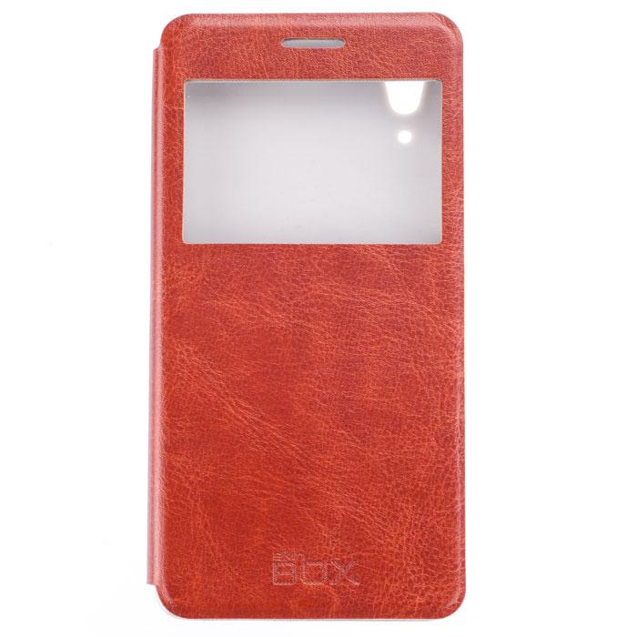 Skinbox Lux AW чехол для Lenovo A6000, BrownP-S-LA6000-004Skinbox Lux AW для Lenovo A6000 обеспечивает надежную защиту смартфона и надежно оберегает его от механических повреждений. Чехол выполнен из искусственной кожи и высокого качества с приятной на ощупь текстурой, а форма открывает свободный доступ ко всем разъемам и элементам вашего устройства.