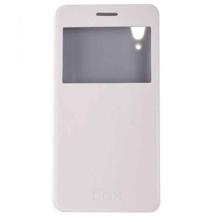 Skinbox Lux AW чехол для Lenovo A6000, WhiteP-S-LA6000-004Skinbox Lux AW для Lenovo A6000 обеспечивает надежную защиту смартфона и надежно оберегает его от механических повреждений. Чехол выполнен из искусственной кожи и высокого качества с приятной на ощупь текстурой, а форма открывает свободный доступ ко всем разъемам и элементам вашего устройства.