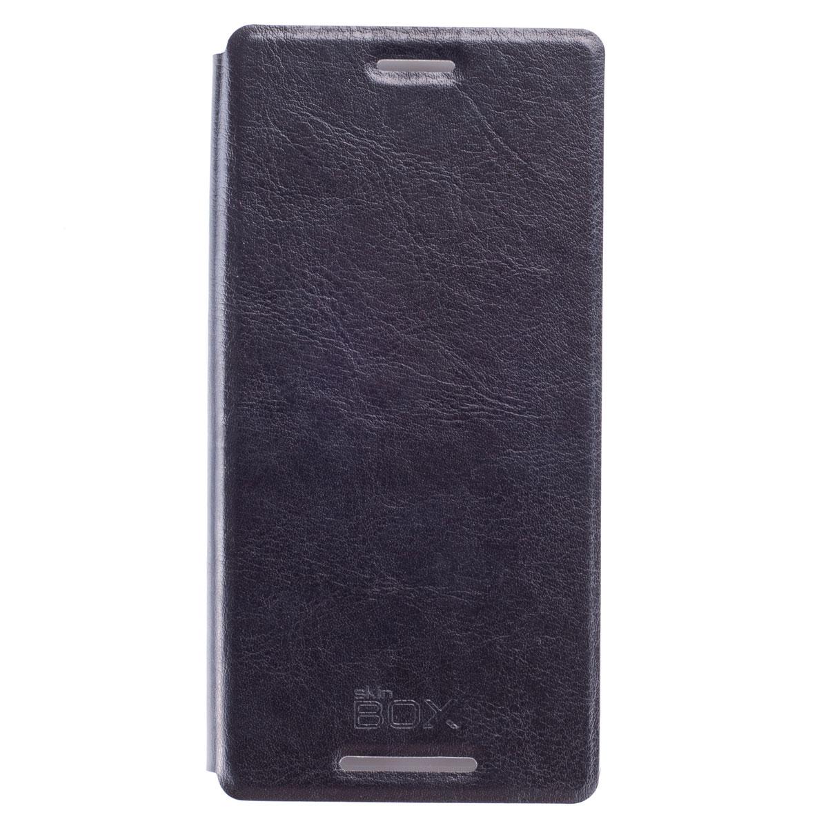Skinbox Lux чехол для Sony Xperia Z3, BlackT-S-AXZ3-003Чехол Skinbox Lux выполнен из высококачественного поликарбоната и экокожи. Он обеспечивает надежную защиту корпуса и экрана смартфона и надолго сохраняет его привлекательный внешний вид. Чехол также обеспечивает свободный доступ ко всем разъемам и клавишам устройства.