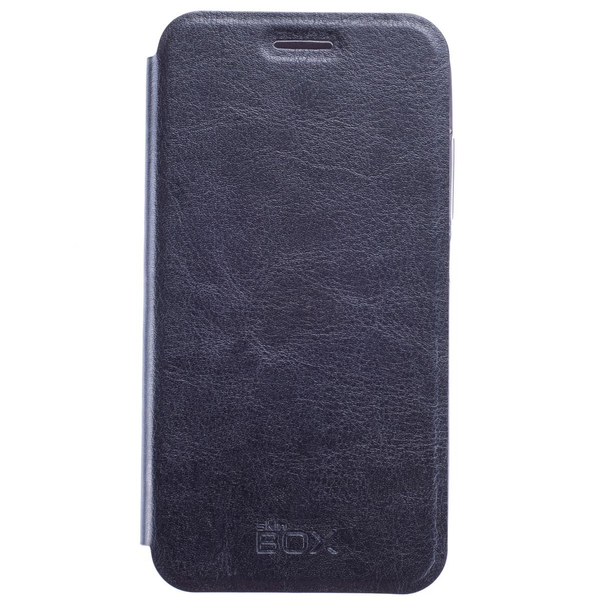 Skinbox Lux чехол для HTC Desire 616 DS, BlackT-S-HD616-003Чехол Skinbox Lux выполнен из высококачественного поликарбоната и экокожи. Он обеспечивает надежную защиту корпуса и экрана смартфона и надолго сохраняет его привлекательный внешний вид. Чехол также обеспечивает свободный доступ ко всем разъемам и клавишам устройства.