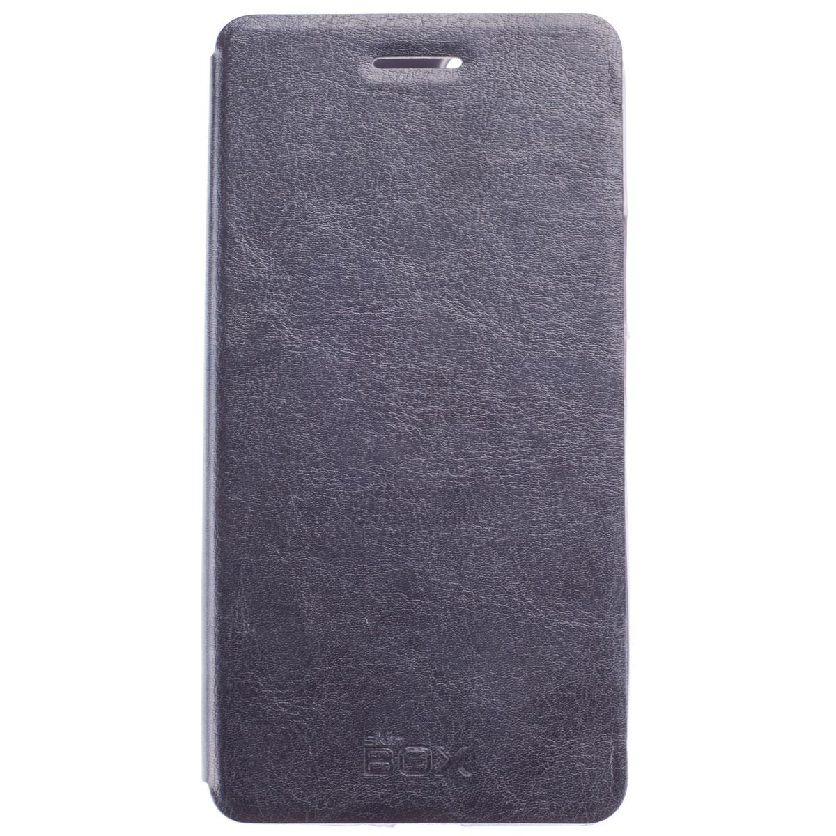 Skinbox Lux чехол для Huawei Honor 6 Plus, BlackT-S-HH6P-003Чехол Skinbox Lux выполнен из высококачественного поликарбоната и экокожи. Он обеспечивает надежную защиту корпуса и экрана смартфона и надолго сохраняет его привлекательный внешний вид. Чехол также обеспечивает свободный доступ ко всем разъемам и клавишам устройства.