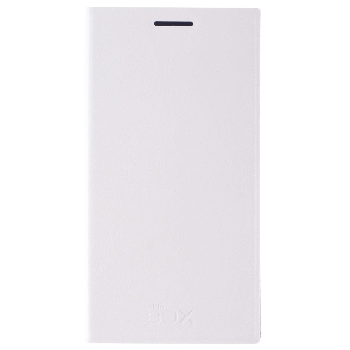 Skinbox Lux чехол для Lenovo P70, WhiteT-S-LP70-003Чехол Skinbox Lux выполнен из высококачественного поликарбоната и экокожи. Он обеспечивает надежную защиту корпуса и экрана смартфона и надолго сохраняет его привлекательный внешний вид. Чехол также обеспечивает свободный доступ ко всем разъемам и клавишам устройства.