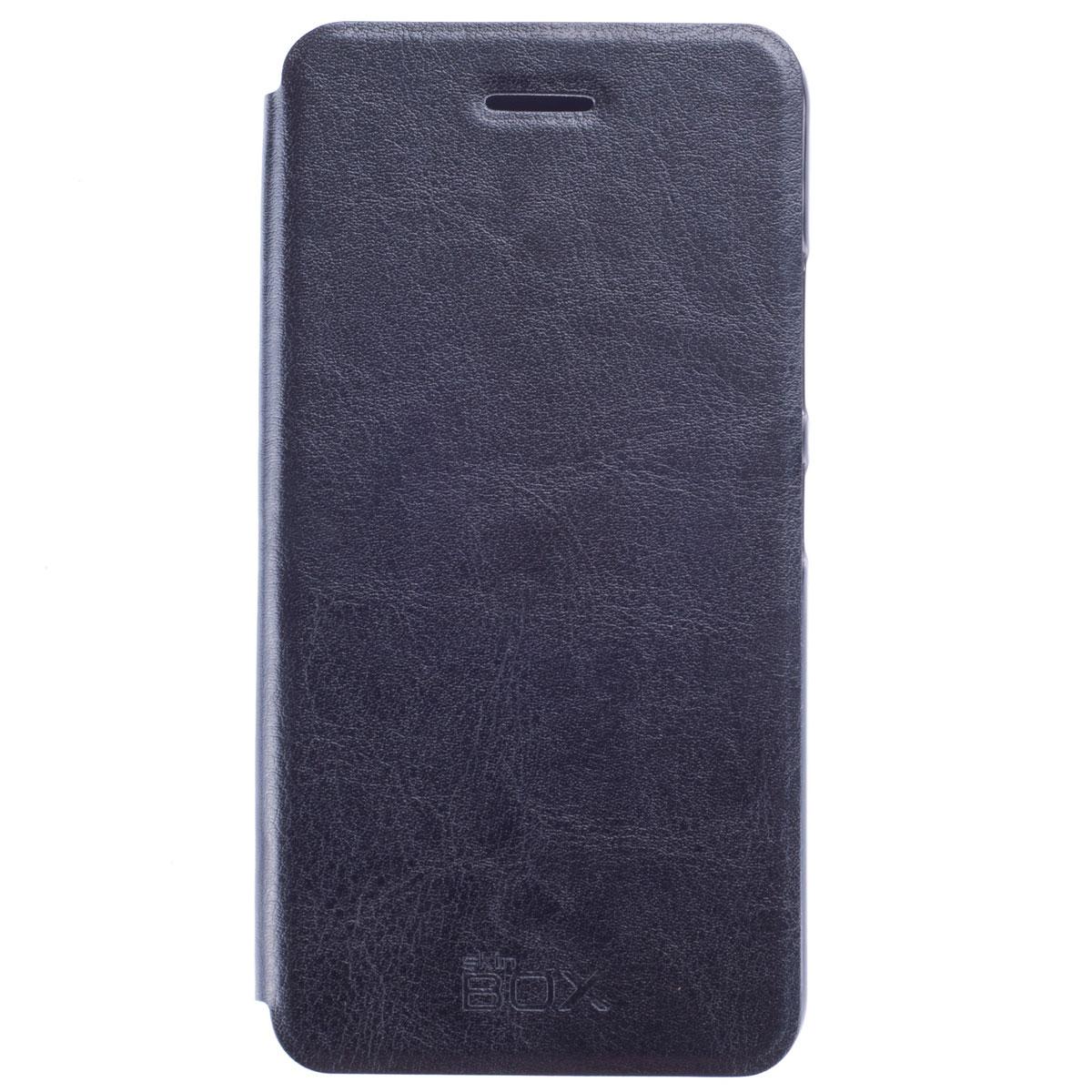 Skinbox Lux чехол для Lenovo S60, BlackT-S-LS60Чехол Skinbox Lux выполнен из высококачественного поликарбоната и экокожи. Он обеспечивает надежную защиту корпуса и экрана смартфона и надолго сохраняет его привлекательный внешний вид. Чехол также обеспечивает свободный доступ ко всем разъемам и клавишам устройства.